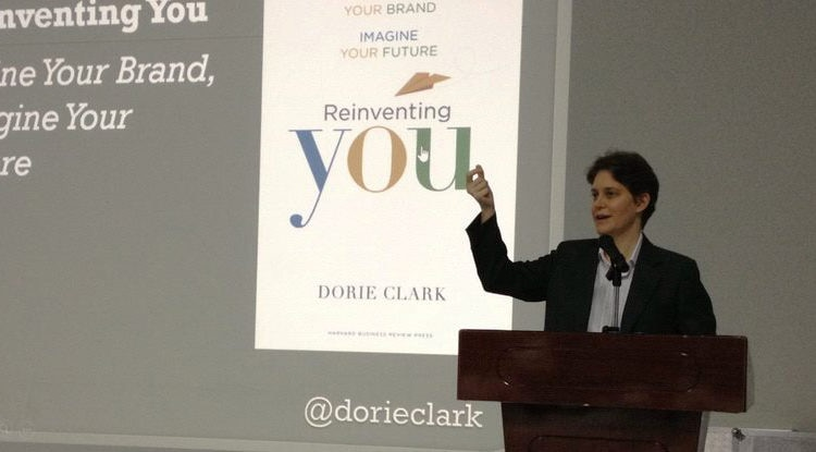Dorie Clark advises on how to stand out positively, at Hoa Sen University
