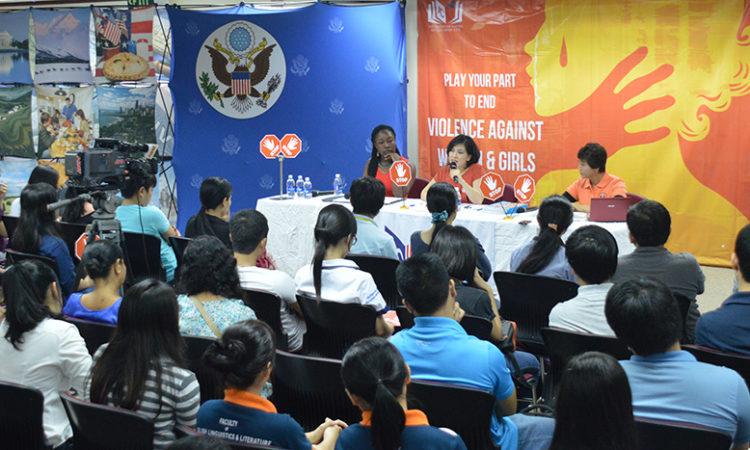 Panelists: Malikat Rufai, Tran Thi Ai Lien, Nguyen Thi Hau