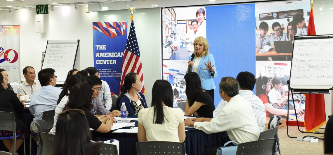 politics second lady jill biden visits vietnam