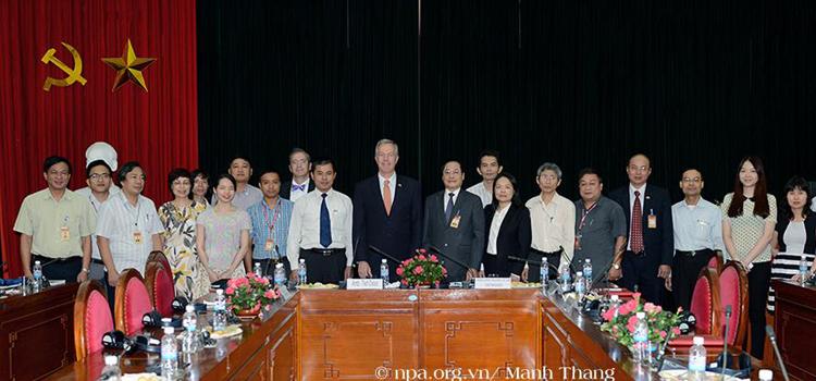 Đại sứ Ted Osius tại Học viện Chính trị Quốc gia Hồ Chí Minh