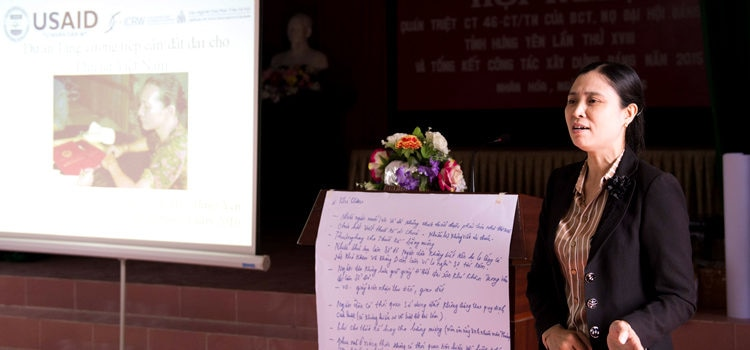 Training Toolkit to Support Women's Access to Land Rights in Vietnam