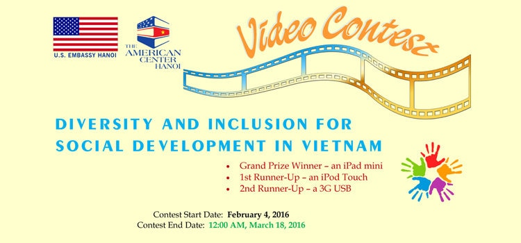 Video Contest on Diversity and Social Inclusion in Vietnam