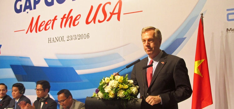 "Ambassador Osius at ""Meet the USA"" Conference"