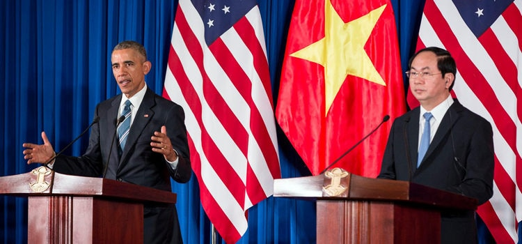Remarks by President Obama and President Quang of Vietnam in Joint Press Conference