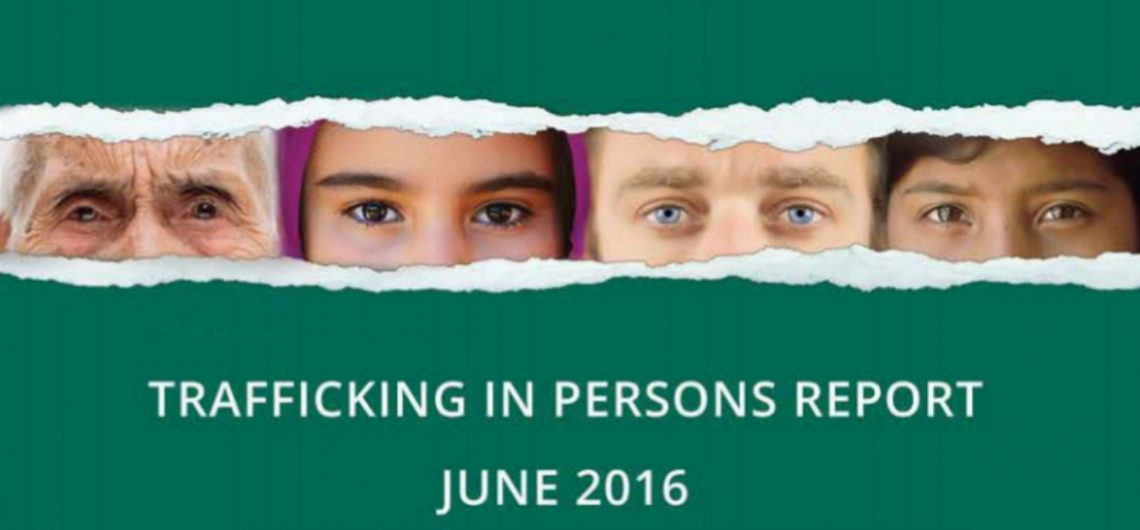 Báo cáo về tình trạng buôn người năm 2016