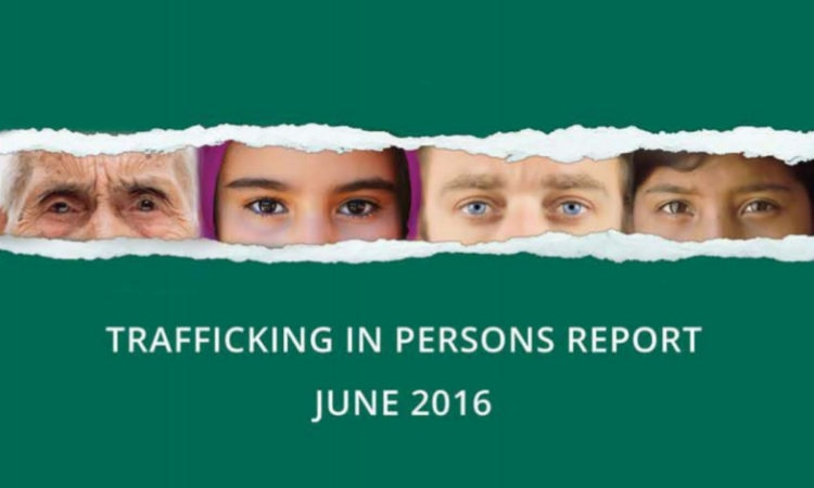 2016 Trafficking in Persons Report