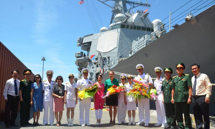 Hoạt động Giao lưu Hải quân thường niên lần thứ 7 bắt đầu tại Đà Nẵng