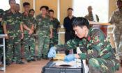 Chương trình huấn luyện Hành động Bom mìn Nhân đạo tại Trường Trung cấp Công binh ở Sơn Tây