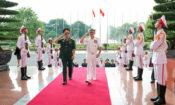 Đô đốc Harris, Tư lệnh Bộ Tư lệnh Thái Bình Dương Hoa Kỳ, thăm Hà Nội