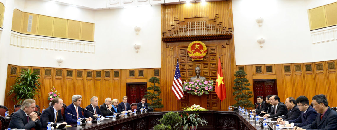 U.S. Secretary of State John Kerry's Visit to Vietnam