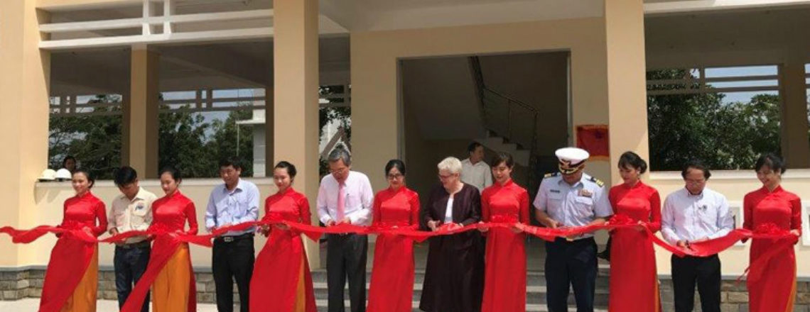 Improving Disaster Response: U.S. and Ninh Thuan Inaugurate Disaster Management Center