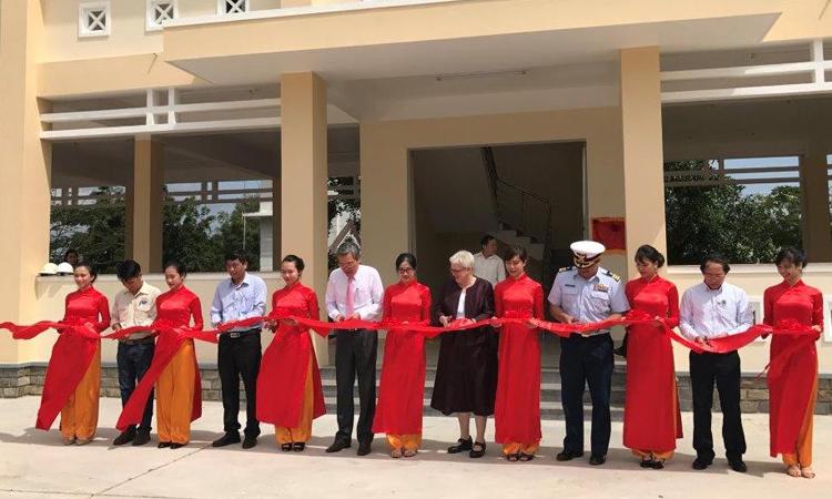 Cải thiện công tác ứng phó thiên tai: Hoa Kỳ và tỉnh Ninh Thuận khai trương Trung tâm điều phối quản lý thiên tai