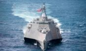 Littoral combat ship USS Coronado (LCS 4). Photo credit: U.S. Navy