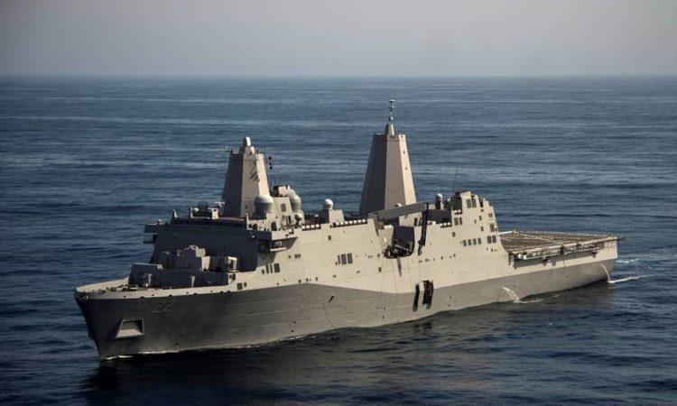 Tàu USS San Diego cập Cảng Quốc tế Cam Ranh