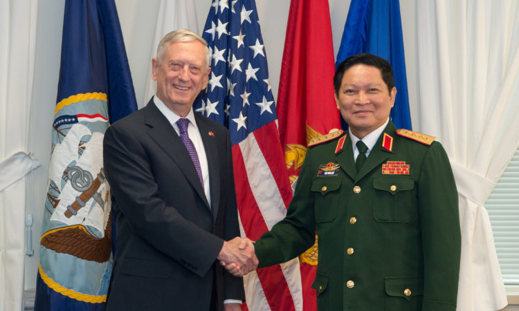 Secretary Mattis' Meeting with Vietnamese Minister of National Defense Lich