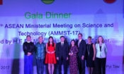 Dr. Nguyen Thi Hiep (fourth left) was at the Award Ceremony yesterday in Nay Pyi Taw, Burma