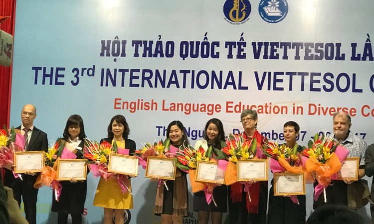 United States and Vietnam Enhance English Teaching through VietTESOL Conference, 12/8/17