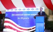 U.S. Ambassador to Vietnam Daniel Kritenbrink gives remarks at the celebration.