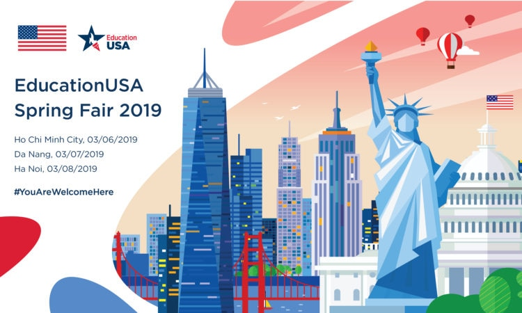 EducationUSA Spring Fair 2019 in Hanoi