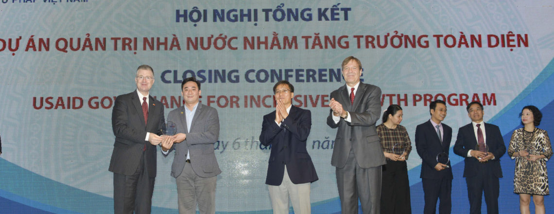 USAID Completes Governance for Inclusive Growth Program in Vietnam