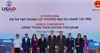 The United States Launches a Program to Help Vietnam Improve Customs Procedures