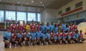 Các vận động viên bóng chuyền Hoa Kỳ giao lưu tại Việt Nam