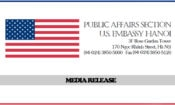 U.S. Embassy Hanoi's Media Release