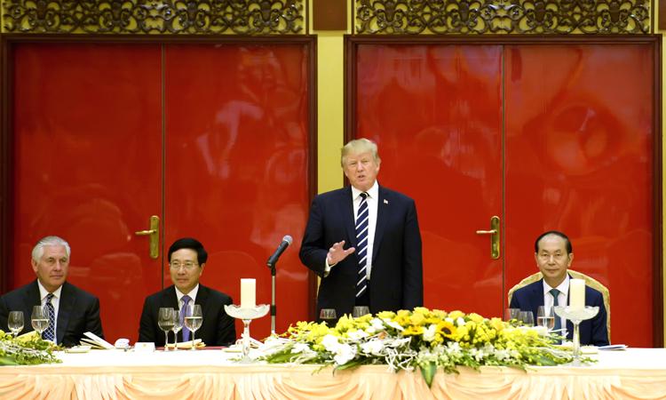 Phát biểu của Tổng thống Trump tại Tiệc chiêu đãi Quốc gia